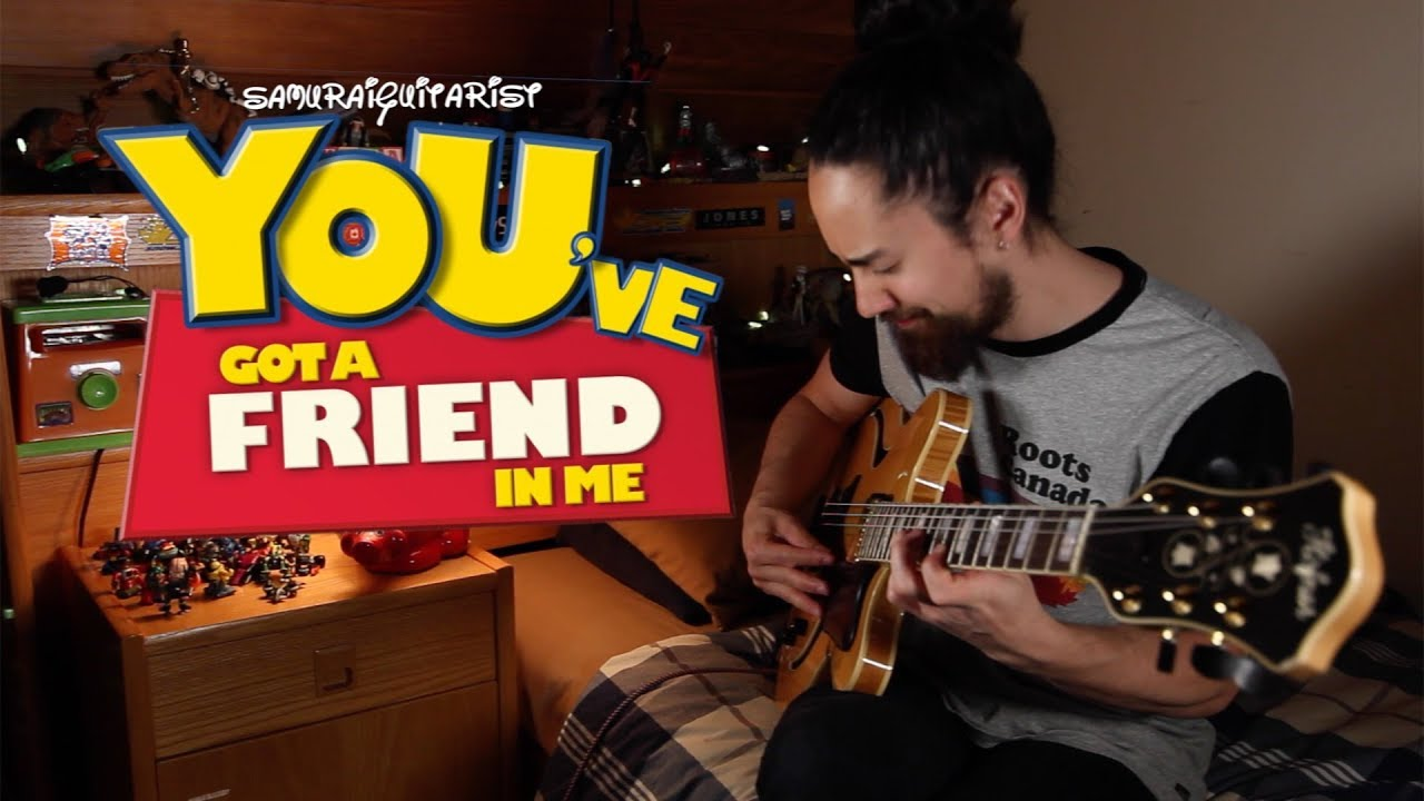 """You've Got A Friend In Me"" – Toy Story (solo jazz guitar)"