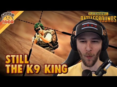 chocoTaco is Still the K9 King - PUBG Solos Gameplay