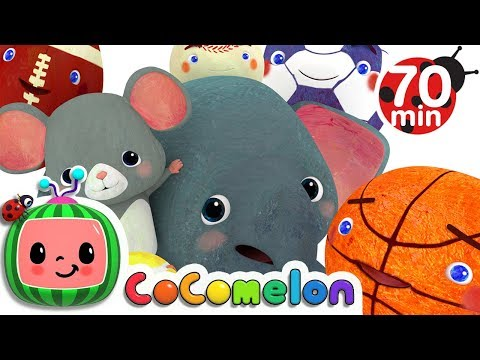 Sports Ball Song | +More Nursery Rhymes & Kids Songs - Cocomelon (ABCkidTV)