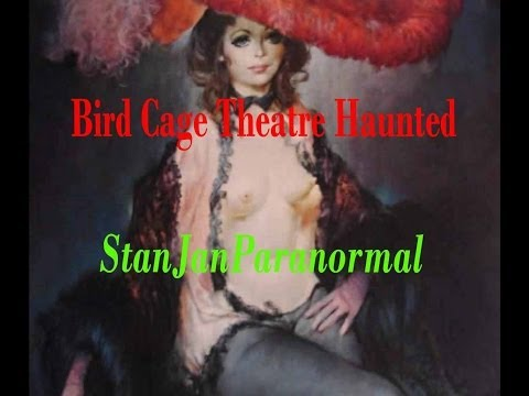BIRD CAGE THEATER Haunted; surveillance ghost hunt (240p)-Tombstone, AZ