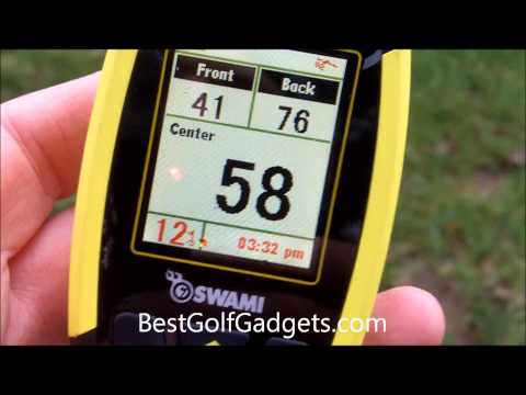 IZZO Swami 4000 Golf GPS Review