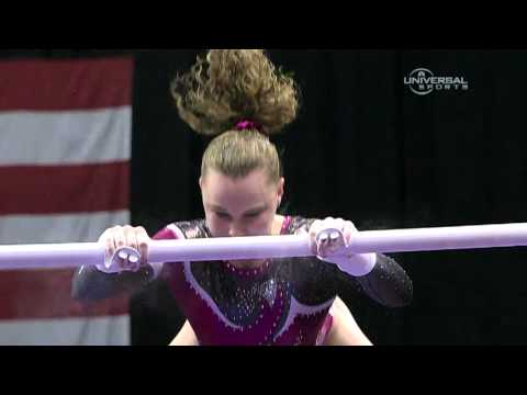 Rebecca Bross has trouble at Nationals - from Universal Sports