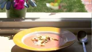 Przepis na salmorejo - chłodnik pomidorowy