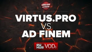 Virtus.pro  vs Ad Finem, DreamLeague Season 6, game 1 [GodHunt, NS]