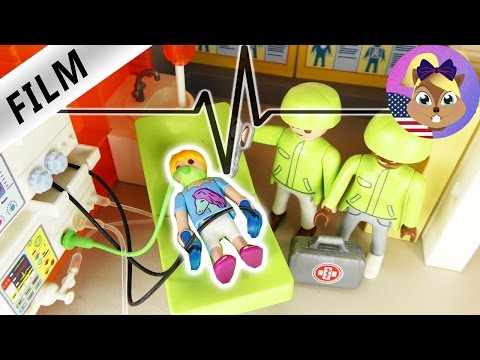 HANNAH at the HOSPITAL | Kids series | Playmobil hospital videos | Playmobil Film