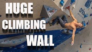 The Longest Bouldering Wall In The World? by Matt Groom