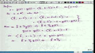Mod-01 Lec-39 Convex Optimization