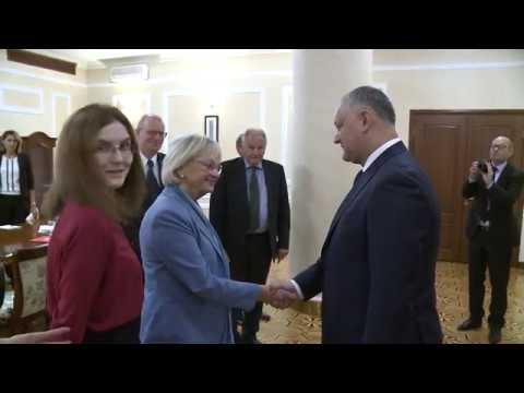 Президент Республики Молдова провел встречу с председателем парламента Королевства Дания
