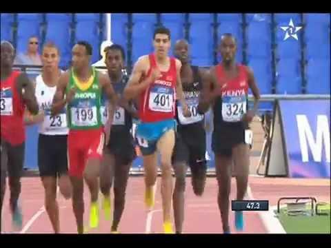 Marrakech 2014 (800 m) : Nijel Amos vainqueur