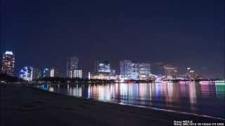 Timelapse Odaiba Rainbow Fireworks 2013
