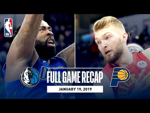 Video: Full Game Recap: Mavericks vs Pacers | Strong First Half Propels IND