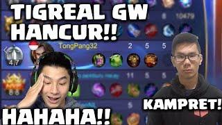 Video TIGREAL GW KENAPA ANCUR GINI DAH!!! - Mobile Legends Indonesia MP3, 3GP, MP4, WEBM, AVI, FLV Oktober 2017