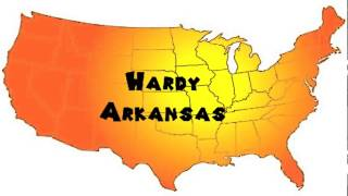 Hardy (AR) United States  city pictures gallery : How to Say or Pronounce USA Cities — Hardy, Arkansas