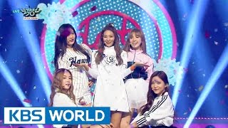 Red Velvet (레드벨벳) - Dumb Dumb [Music Bank HOT Stage / 2015.09.18]