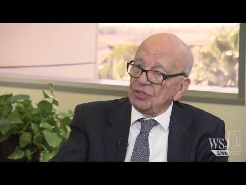 rupert murodch - WSJ Live presents an interview with News Corp. Chairman and CEO, Rupert Murdoch. Mr. Murdoch discusses a wide range of topics including the future of journal...