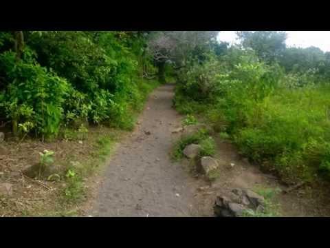escursionismo - vulcano taal nelle filippine