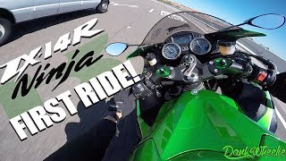 2. Ninja ZX-14r Test Ride! - H2 Ride Thoughts
