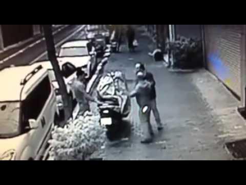 Motosiklet Çalarken Yakalanan Hırsızlar