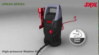Skil 0761 pressure washer -  Compact and lightweight with a full-aluminium pump