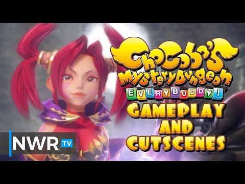 Gameplay and Cutscenes de Chocobo's Mystery Dungeon Every Buddy!