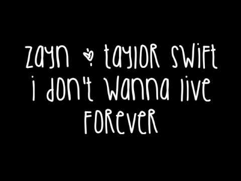 Video Zayn Malik & Taylor Swift - I Don't Wanna Live Forever Lyrics (Fifty Shades Darker) download in MP3, 3GP, MP4, WEBM, AVI, FLV January 2017