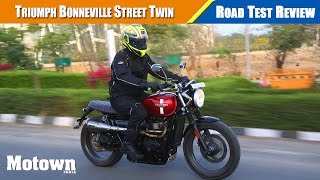 10. 2017 Triumph Street Twin   Road Test Review   Motown India