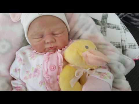 Video Christina'sReborns - Reborn Baby Ivy and her new cute little ducky rattle! download in MP3, 3GP, MP4, WEBM, AVI, FLV January 2017
