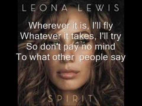 lilmooprincess1994 - Leona Lewis Whatever it Takes with lyrics Da da da da da... People say love Comes and goes, but They don't understand What they don't know Cause, what I feel...