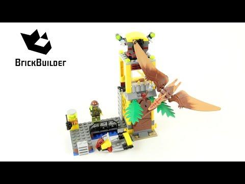 Vidéo LEGO Dino 5883 : La tour du Ptéranodon