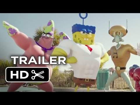 The SpongeBob Movie: Sponge Out of Water Official Trailer #1 (2015) – Animated Movie HD