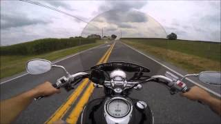 8. 2005 Yamaha V Star 1100 Test Drive