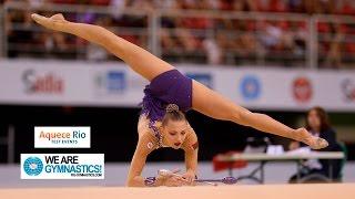 FIG Official - Aquece Rio Final Gymnastics Qualifier (Test Event) 2016 Rio de Janeiro (BRA), April 16-22, 2016. Commentary: Lisa...