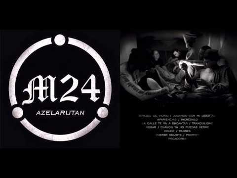 M24 - Conformado por Gabriel Vásquez, JAT, Kayser Karetas, Valeska, Weyken, Zeta. M24 Álbum 'Azelarutan' 2014 Descarga Completa: https://www.mediafire.com/?hy6w826...