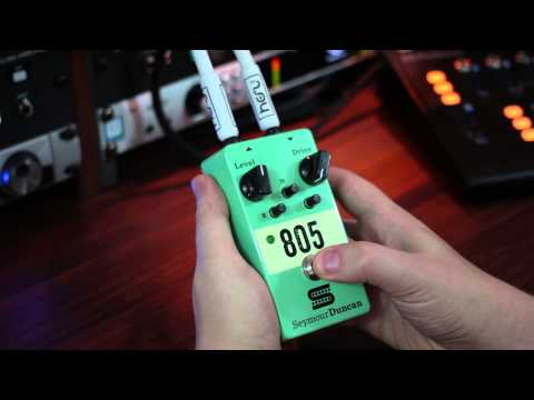 Seymour Duncan 805 Overdrive- High Gain Metal Rhythm