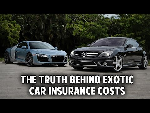 The Truth Behind Exotic Car Insurance Costs