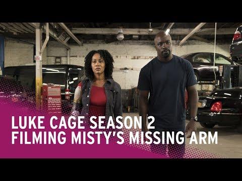 Filming Misty's Missing Arm in Luke Cage Season 2