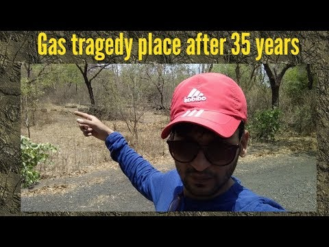 Bhopal gas tragedy area after 35 years