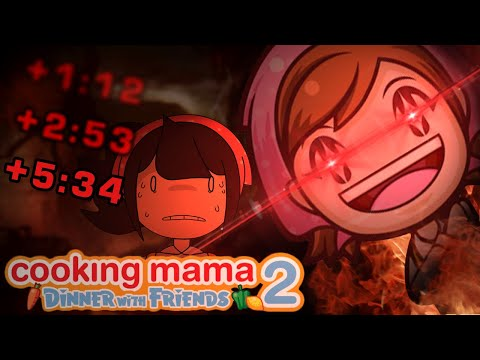 Cooking Mama 2 Speedruns Are Brutal