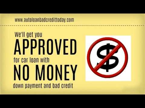 No Money Down Auto Loans for People with Bad Credit – Car Loans No Money Down