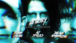 Nonton Wwe No Mercy 2016   Results Predictions  W  Custom Graphics  Film Subtitle Indonesia Streaming Movie Download