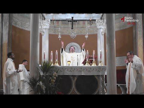 Ferentino 22 aprile 2020, S.Messa Secondo Giorno della Novena in Onore di Sant'Ambrogio Martire