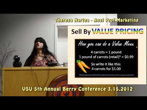 Theresa Nartea – ( clipped audio repair) Diversified Marketing for 2012