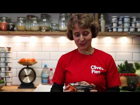 Mushroom & Leek Pie, Gluten Free, Organic, Clive's (235g)