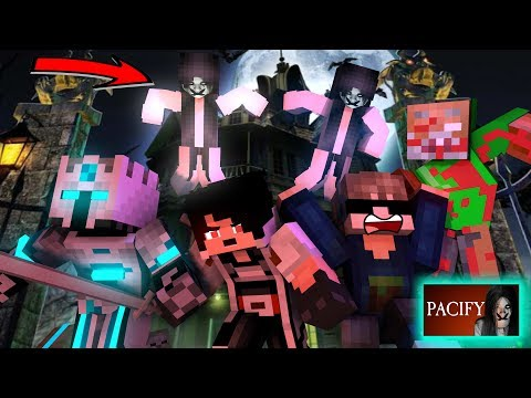 Kartun HORROR ! - Petak umpet bersama HANTU PACIFY - Minecraft Animation Indonesia