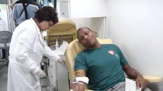 VÍDEO: Campanha do Hemominas em Belo Horizonte incentiva a doação de sangue