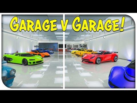 GTA 5 Online - THE GARAGE vs GARAGE SHOWDOWN EP. 5 (Competitive Garage Showcase) [GTA V]