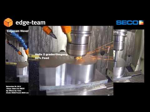 Edgecam Waveform af Harun Göbekoglu (видео)