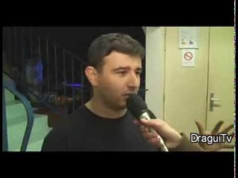 Speed badminton - Reportage soirée blackminton