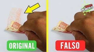6 Trucos para Distinguir Billetes Falsos | DeToxoMoroxo