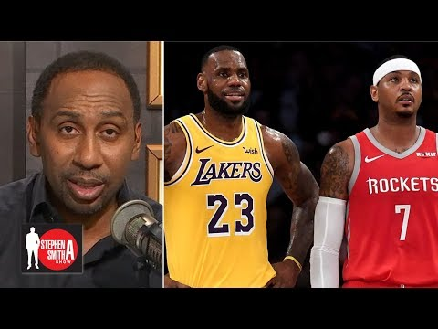 Video: It'd be nice if LeBron helped Carmelo sign with the Lakers – Stephen A. | Stephen A. Smith Show